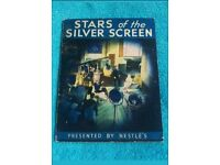 Rare vintage stars of the silver screen stamp album