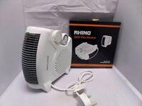 Brand New Rhino H02073 2 kW Fan Heater - White