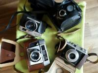 Vintage cameras x4. Offers welcome