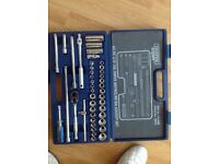 "DRAPERS Expert 42pc 3/8"". SQ.Drive metric/AF/BA socket set"