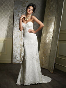 Alfred Angelo Sapphire #869 Wedding Dress