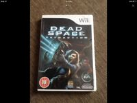 Wii Game Dead Space