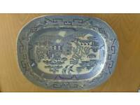 The Willow Blue & White Serving Platter