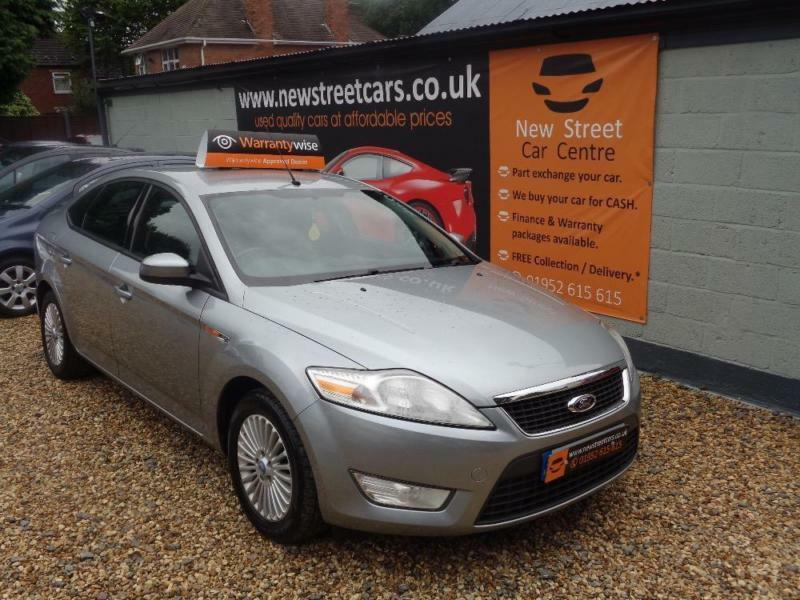 FORD MONDEO 2.0 ZETEC TDCI, Silver, Manual, Diesel, 2008