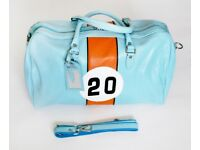 Leather Holdall Porsche Number 20