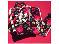 Ladies Floral Tracksuits Brand New