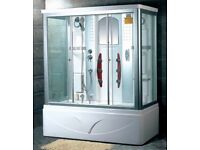 Steam shower & Whirlpool Bath Never Used 75% off original price