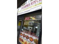 A RUNNING RESTAURANT FOR RENT IN BUSY AREA