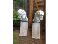 Good Sized Jaguar Outdoor Ornaments