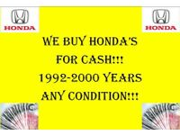 Wanted Honda's 1992-2000 Civic Logo Crv Integra Honda