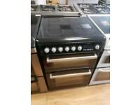 Hotpoint Double Oven Electric Cooker 60cm width. Free Local Delivery