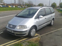 2006 Volkswagen Sharan 1.9TDI auto ( NO MOT HENCE SPARES REPAIRS ONLY )