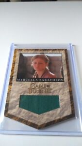Game of Thrones  RB4 Myrcella Baratheon House Banner Relic Card