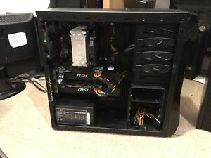 i7 Gaming PC, two video Cards, 16GB Ram