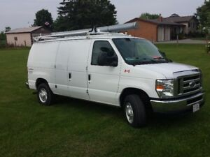 2013 Ford Gas/Propane Van