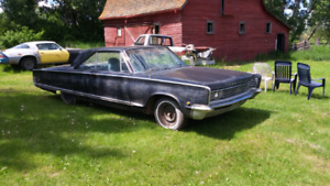 1966 chrysler windsor. All original, all there.
