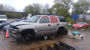 2000 Chevy Tahoe 4x4 Parts