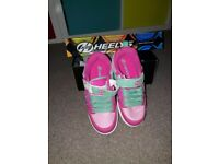 Pink Heelies for sale £30 worn once