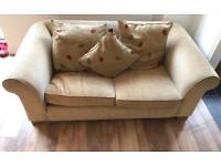 Two seater fabric sofa, excellent condition, from John Lewis (used)