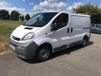 Vauxhall VIVARO 1.9 diesel starts and drives well bargain price to sell 2004 model