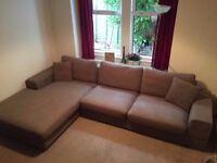 Sofa Dwell Mocha plus Delivery to London