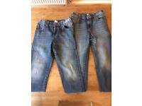 Boys jeans - 2 pairs - Age 8-9