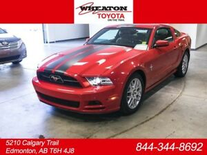 2013 Ford Mustang V6, Premium, Leather, Heated Seats, AUX, Alloy