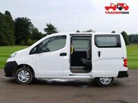 15 NISSAN NV200 1.5DCI SE SEAT 5 SEAT CREW VAN CONVERSION DIESEL MANUAL