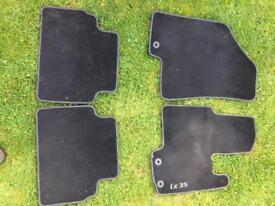 Car mats for Hyundai IX35 SUV