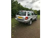 Jeep Grand Cherokee 2004 2.7 Diesel, Automatic, good condition