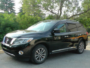 2014 Nissan Pathfinder SL,AWD,7-SEATER,LEATHER,NAV,REMOTE START