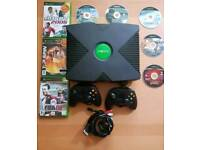 XBOX CLASSIC 8 GAMES 2 CONTROLLERS