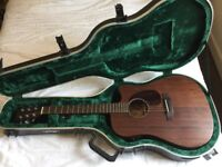 Sigma DMC15-E Acoustic Guitar with Case