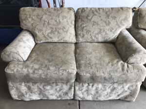 Couch & Loveseat $100