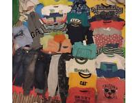 9-12 12-18 baby boys clothes large bundle