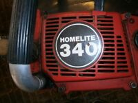 Homelite 340C chainsaw for spares or repair