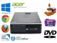 HP Compaq 8200 Elite SFF i5-2500 3.30 GHz 4GB/8GB RAM 500/1TB HDD Windows 10 pro