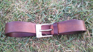 Calvin Klein  Authentic Leather Belt
