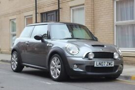 2007 Mini Cooper S, 12 Months MOT, 12 Months Extended Warranty, Xenon, Pan Roof, Heated Seats