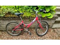 Great Kid's Bike for sale - Raleigh Shugo 20 inches - red colour - Bearsden - Glasgow