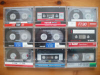 Blank Audio Cassettes: Good quality Type 1
