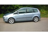 2007 ford c max,1.6 petrol,long mot,service history,alloys,excellent car-£1395 o.n.o