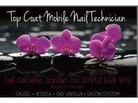 Top Coat (Mobile Nail Technician) based in Alcester