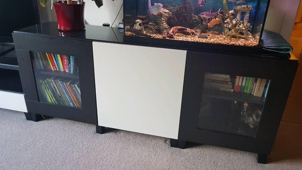 Set Of Ikea Besta Living Room Furniture