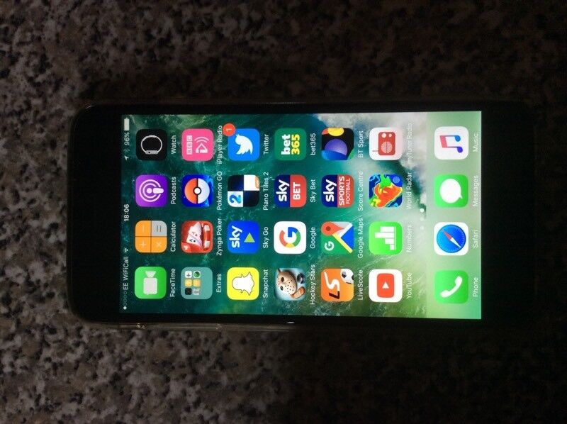 iPhone 6 plusin Saintfield, County DownGumtree - iPhone 6 Plus 16 GB on EE network in perfect condition.No scratches on screen and never needed repaired.One very small dent on back which doesnt affect the phone in any way.Comes with box and charger.£250 ono