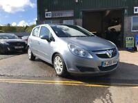 Vauxhall Corsa 1.4 Automatic Club model with Aircon only 23000 miles from new 2006 56 plate