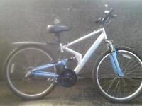 Two Mountain bikes, good condition, 26in wheels