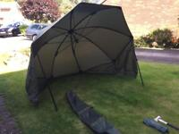 Nash H Gun Brolly Carp fishing
