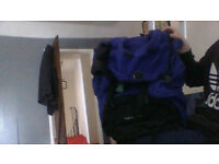 High point 85 large blue and black bag