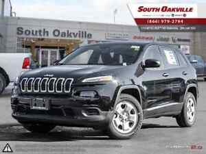 2017 Jeep Cherokee Sport   COLD WEATHER GROUP   HEATED LEATHER